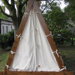 """Tente d'un """"viking høvding"""""""