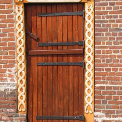 Derrière cette porte,l'inconnu vous attend....