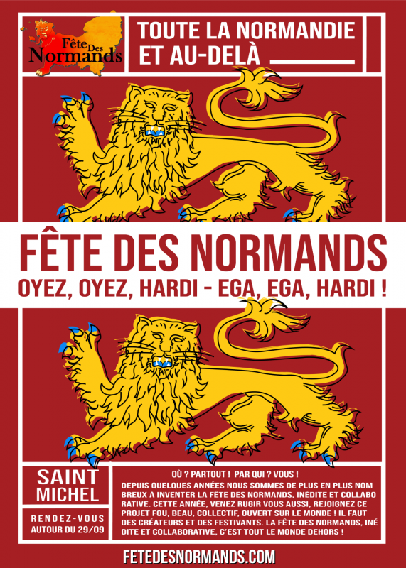 Affiche fc3aate des normands campagne collaborative copie
